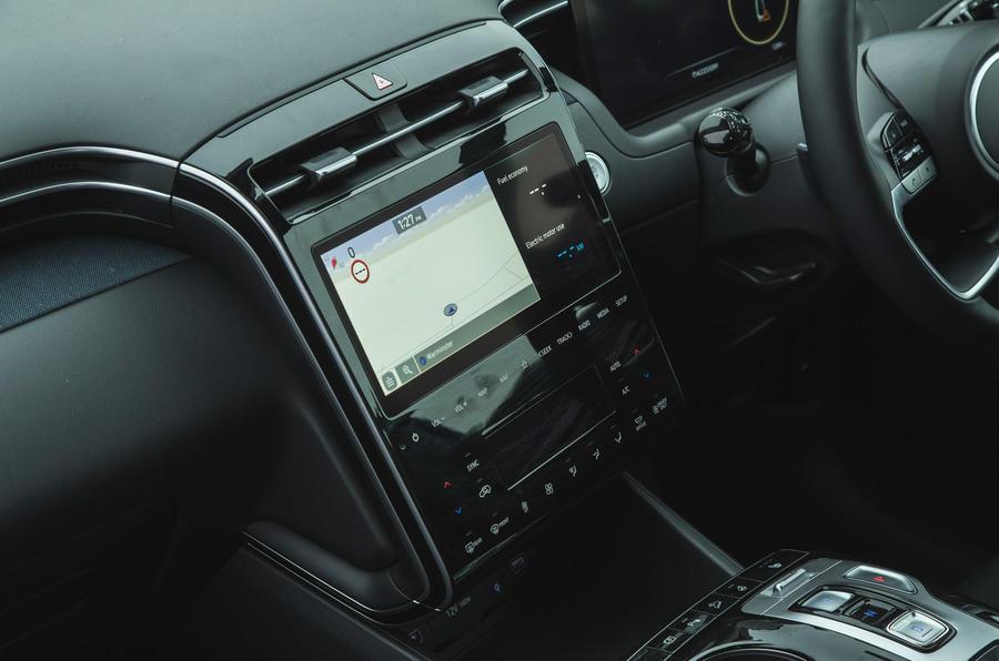16 Hyundai Tucson 2021 essai routier infotainment examen