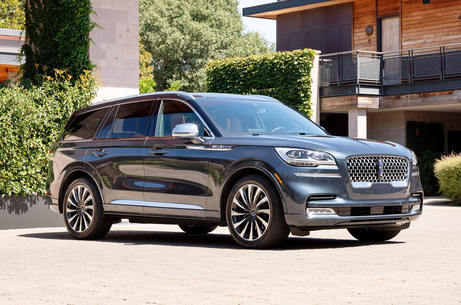 Lincoln Aviator 2020 road test review - static front