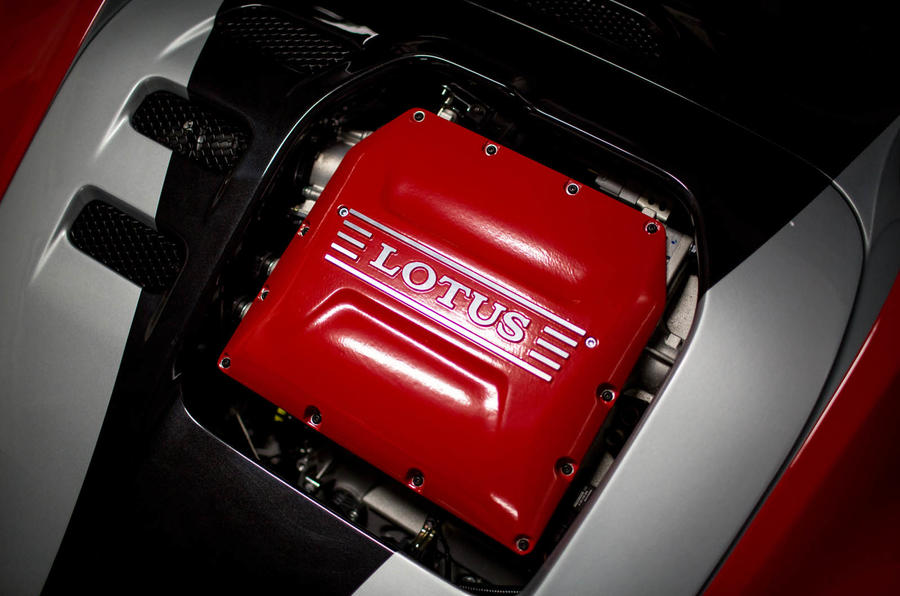 Lotus 3-Eleven 430 review engine
