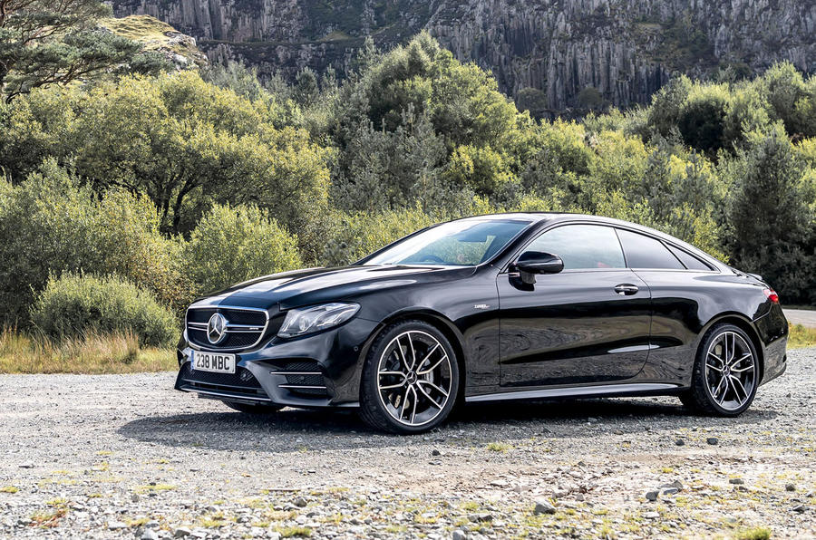 Mercedes-AMG E53 2018 review - static front