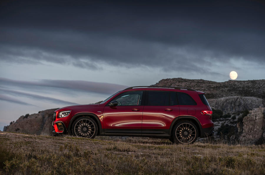 Mercedes-AMG GLB 35 2020 road test review - static