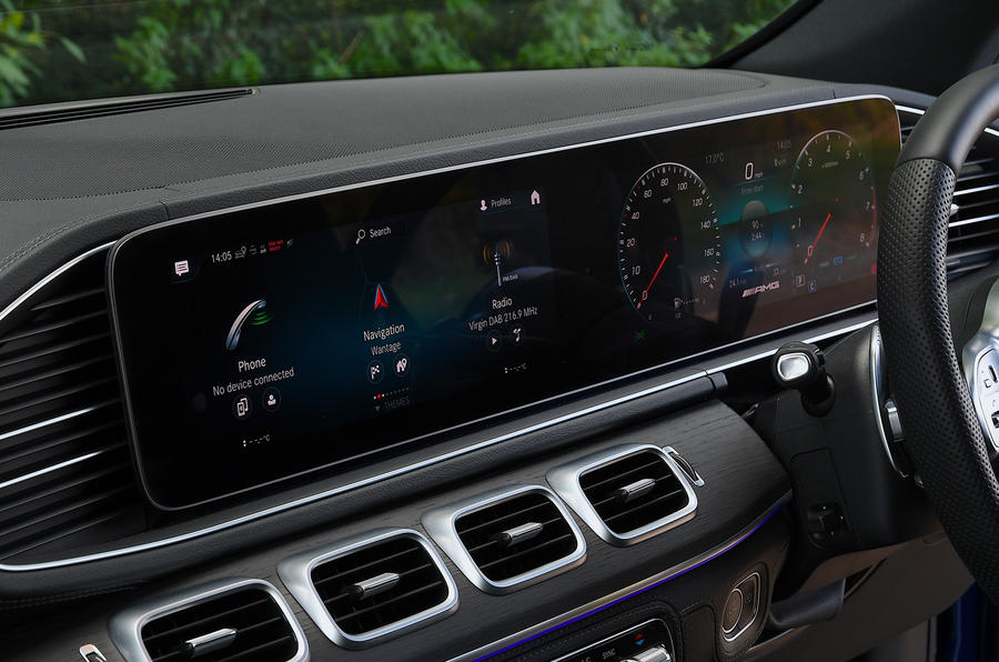 Mercedes-AMG GLE 53 2020 road test review - infotainment
