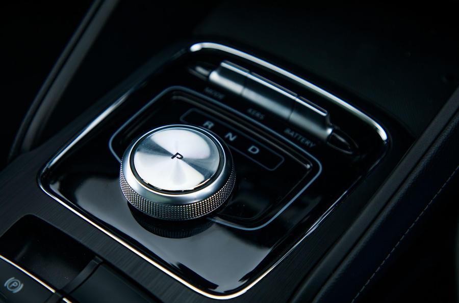MG ZS EV 2019 road test review - centre console
