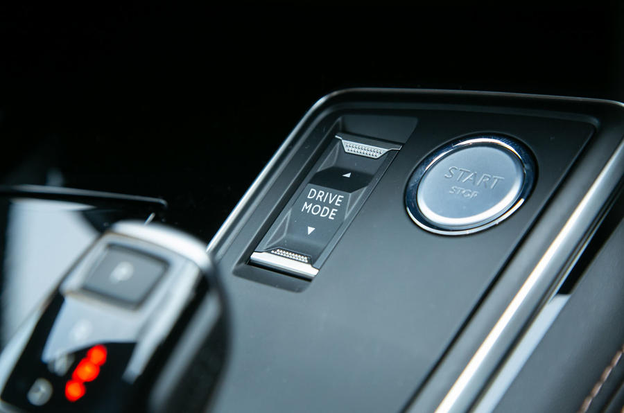 Peugeot 508 SW 2019 review - drive modes