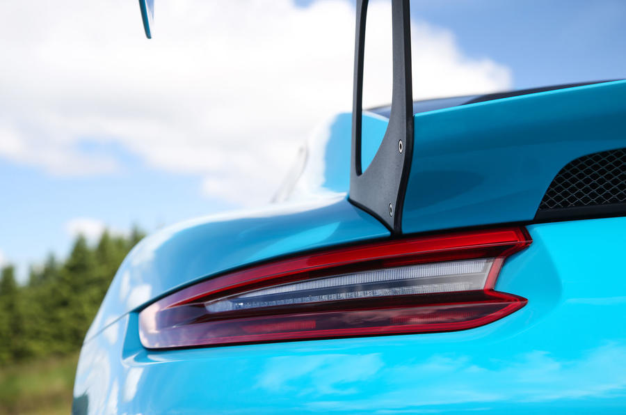 Porsche 911 GT2 RS 2018 road test review rear lights