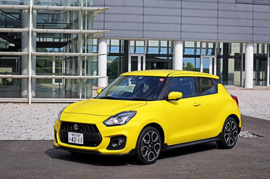 Suzuji Swift Sport Japan-spec review 4-star car