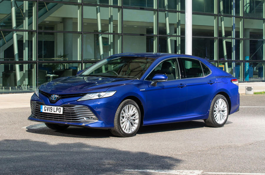 Toyota Camry 2019 review - static front
