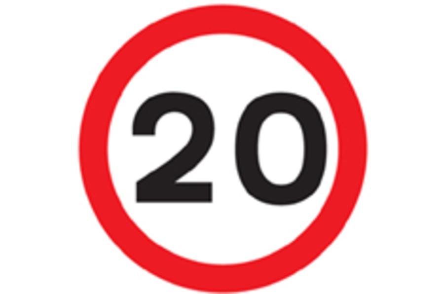 Call for 20mph limits in towns