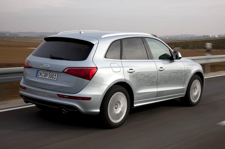 Audi Q5 Hybrid rear