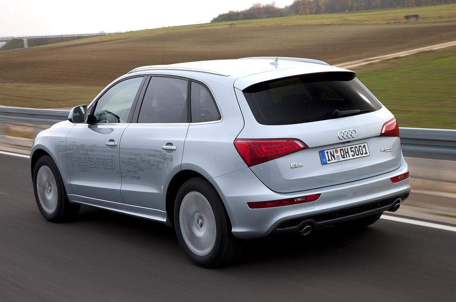 Audi Q5 Hybrid rear quarter