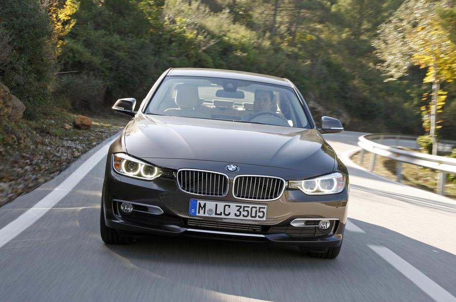 BMW 320d front end