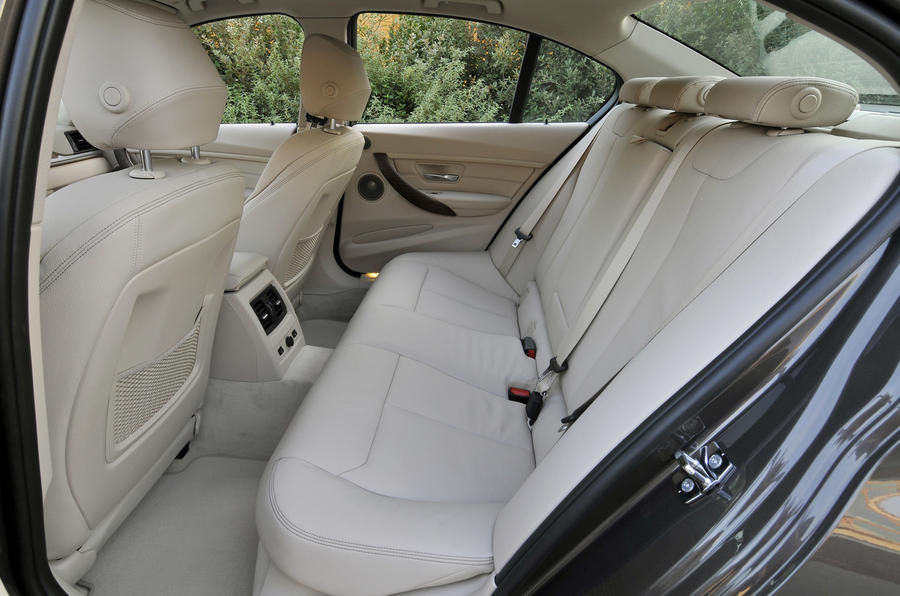 BMW 320d rear seats