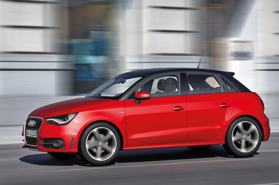 Audi A1 Sportback in town