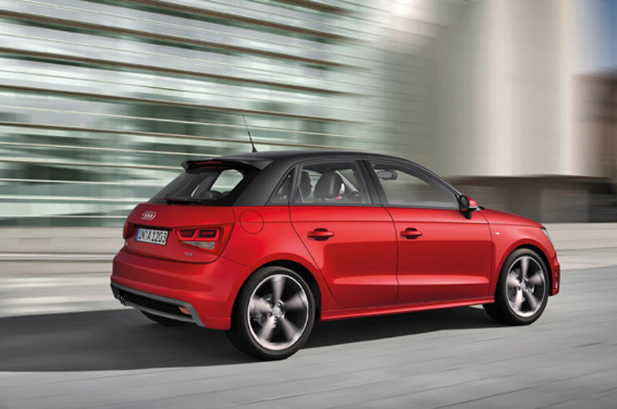 Audi A1 Sportback rear quarter