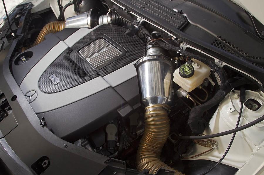 5.5-litre V8 Mercedes-Benz B 55 engine