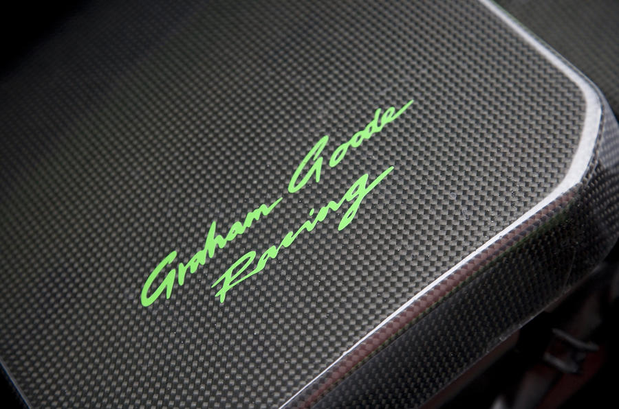 Ford Focus RS 370FR GGR stitching