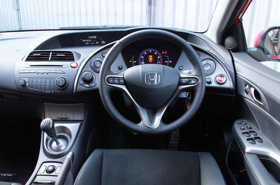 Honda Civic dashboard