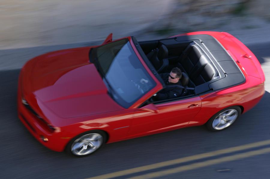 Chevrolet Camaro SS cabrio