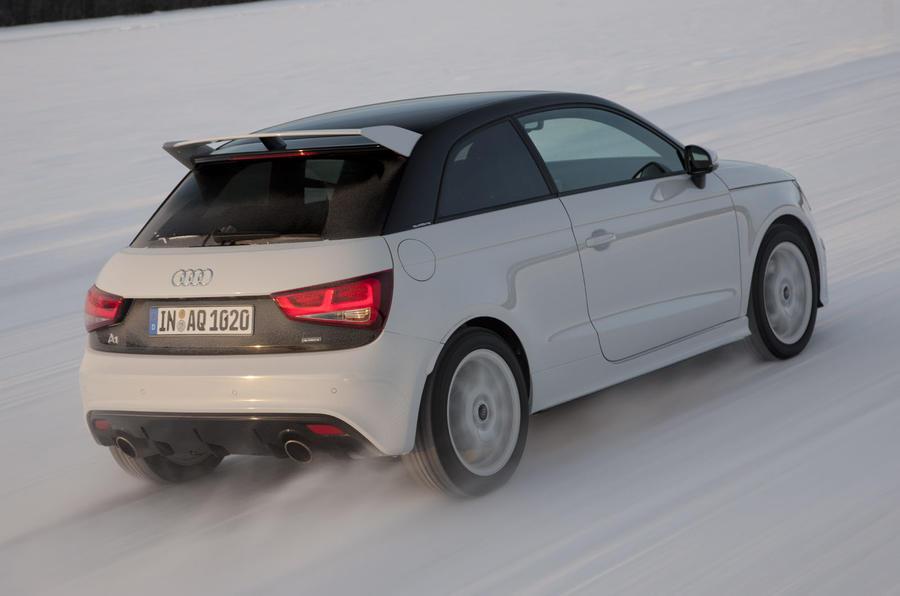 Audi A1 Quattro rear