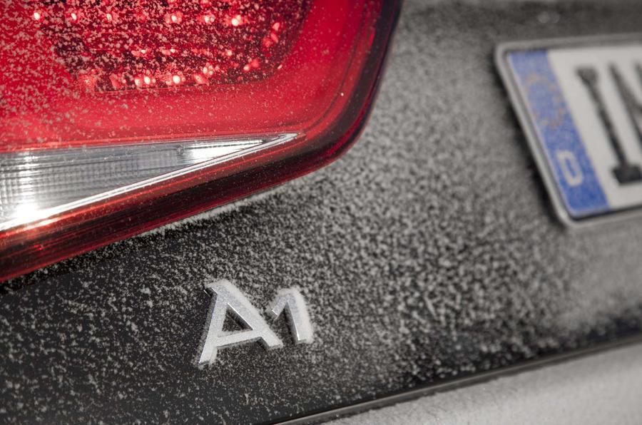 Audi A1 Quattro badging