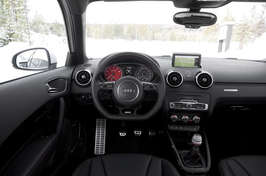 Audi A1 Quattro dashboard