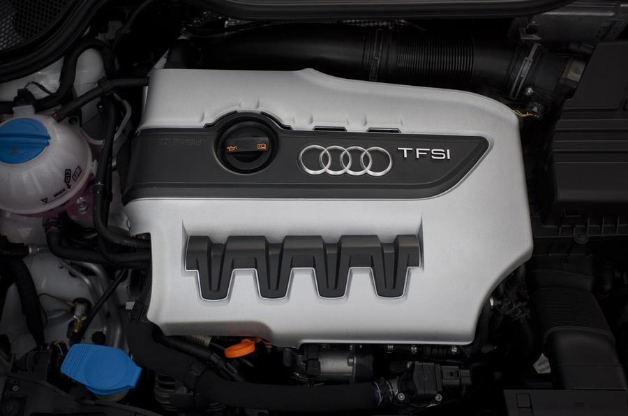 2.0-litre Audi A1 Quattro engine