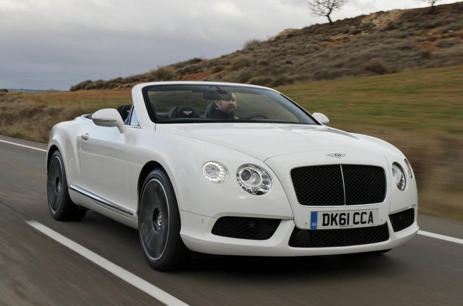 500bhp Bentley Continental GTC V8