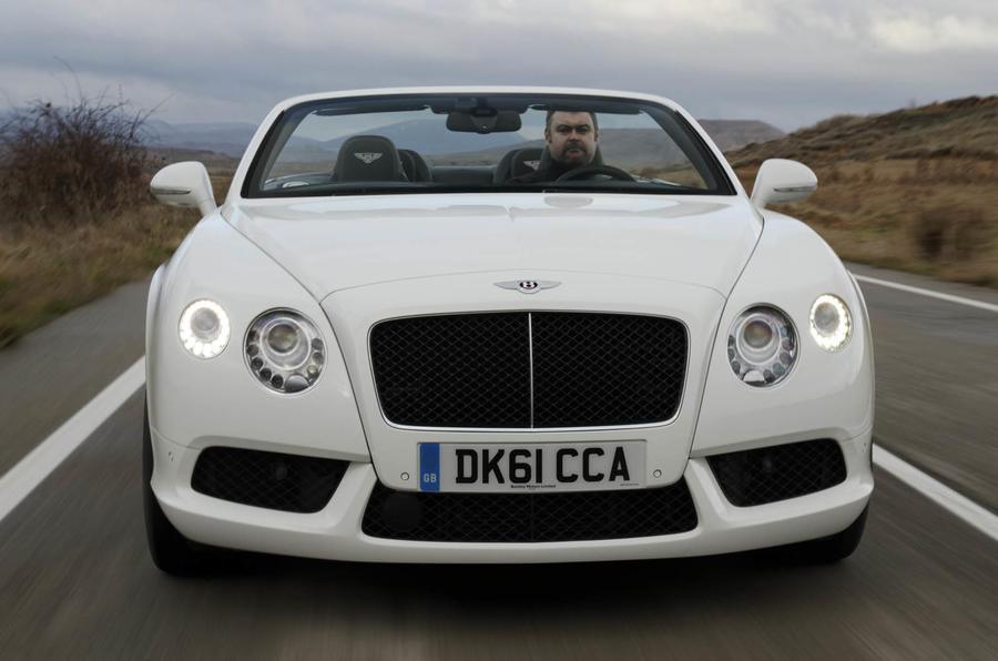 Bentley Continental GTC V8 front end