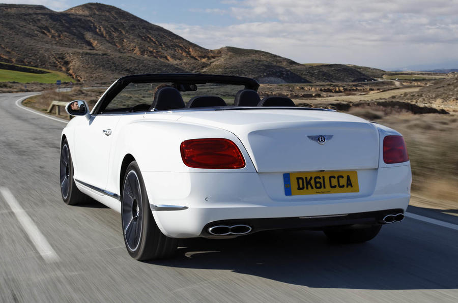 Bentley Continental GTC V8 rear