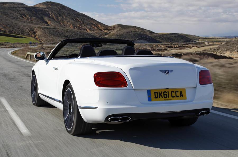 Bentley Continental GTC V8 rear
