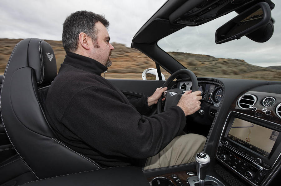Driving the Bentley Continental GTC V8