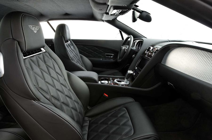Bentley Continental GTC V8 interior
