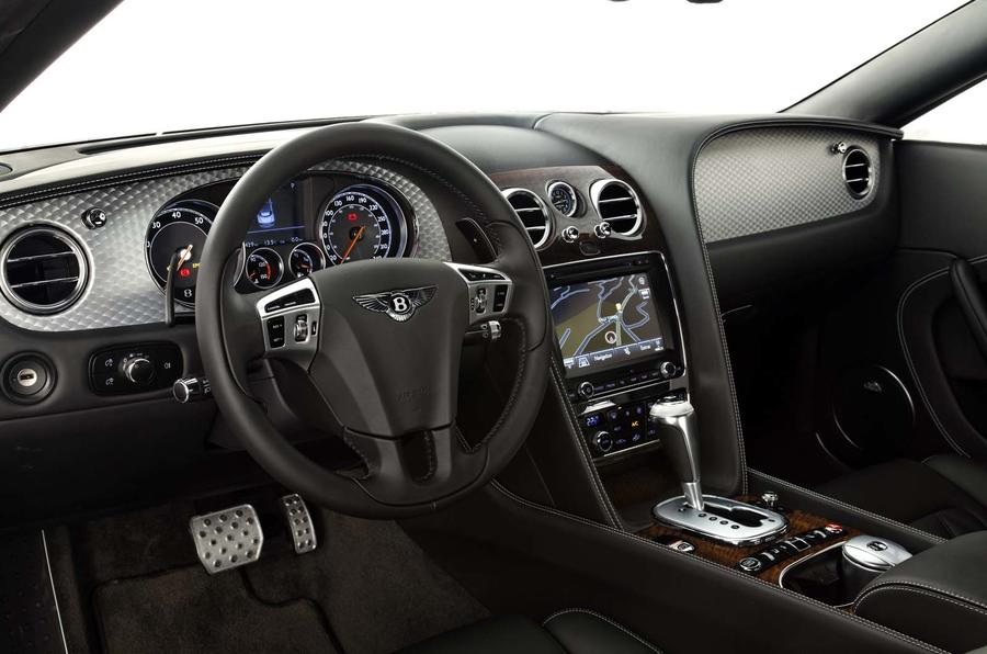 Bentley Continental GTC V8 dashboard