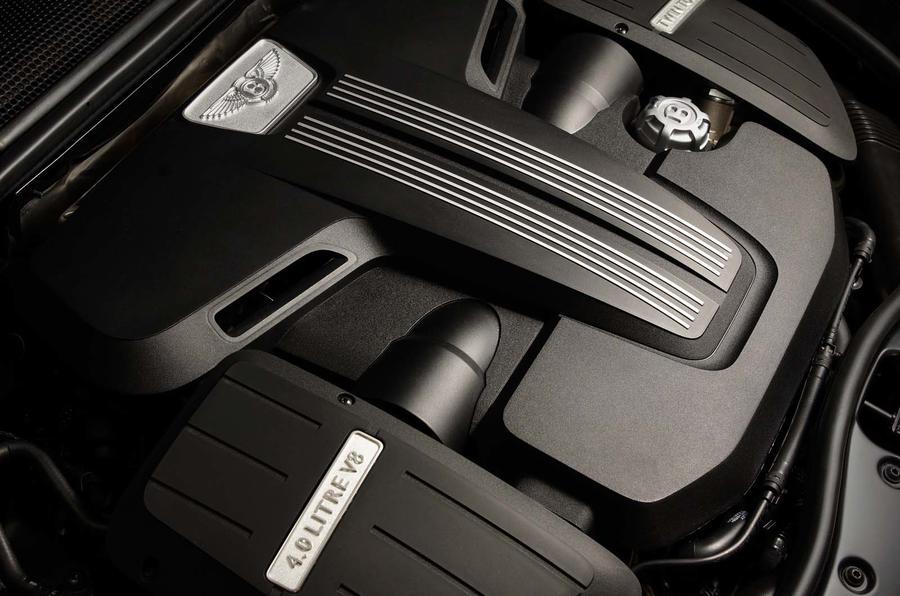 4.0-litre V8 Bentley Continental engine