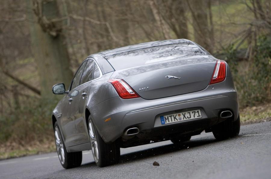 Jaguar XJ v Mercedes S-class