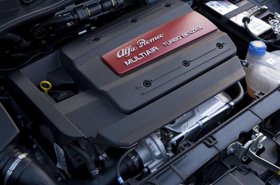 1.75-litre Alfa Romeo Mito Cloverleaf engine