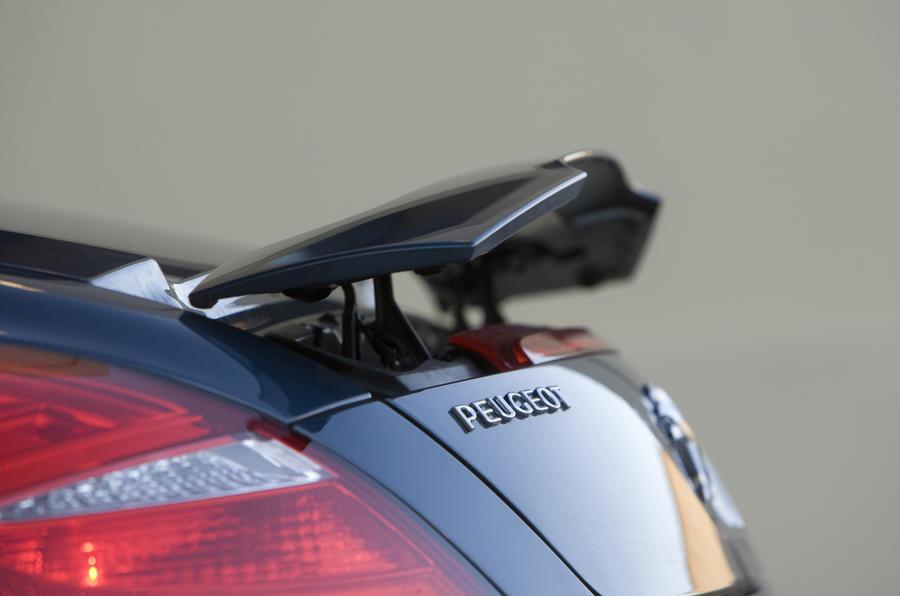 Peugeot RCZ GT THP200 rear wing