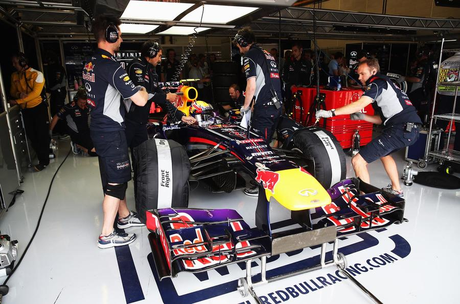 Eavesdropping on Red Bull Racing's British GP qualifying bid