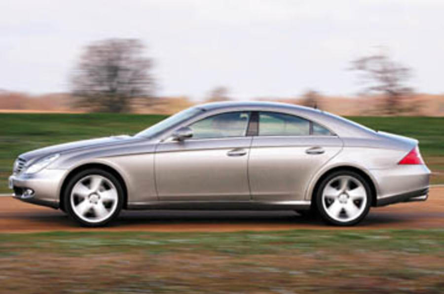 mercedes benz cls 500 review autocar. Black Bedroom Furniture Sets. Home Design Ideas