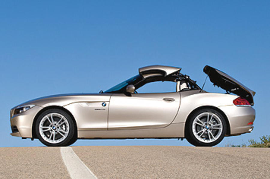 bmw z4 3 0 sdrive35i convertible first drive. Black Bedroom Furniture Sets. Home Design Ideas