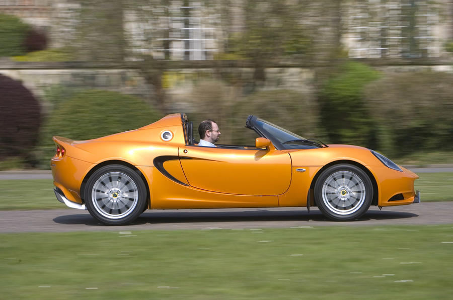 Lotus Elise side profile