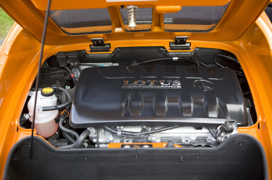 1.6-litre Lotus Elise petrol engine