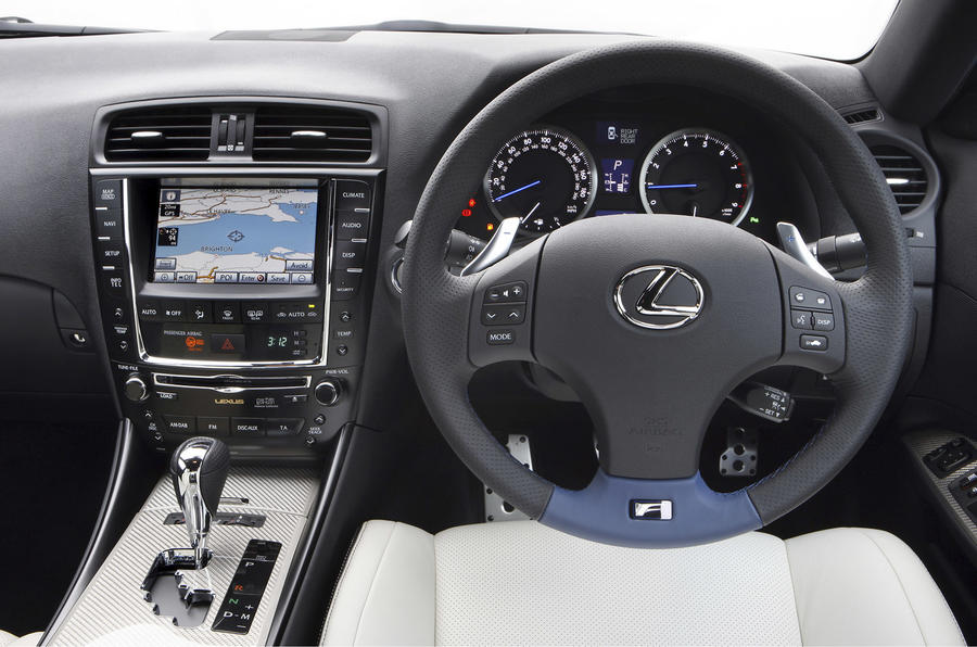 Lexus IS-F dashboard