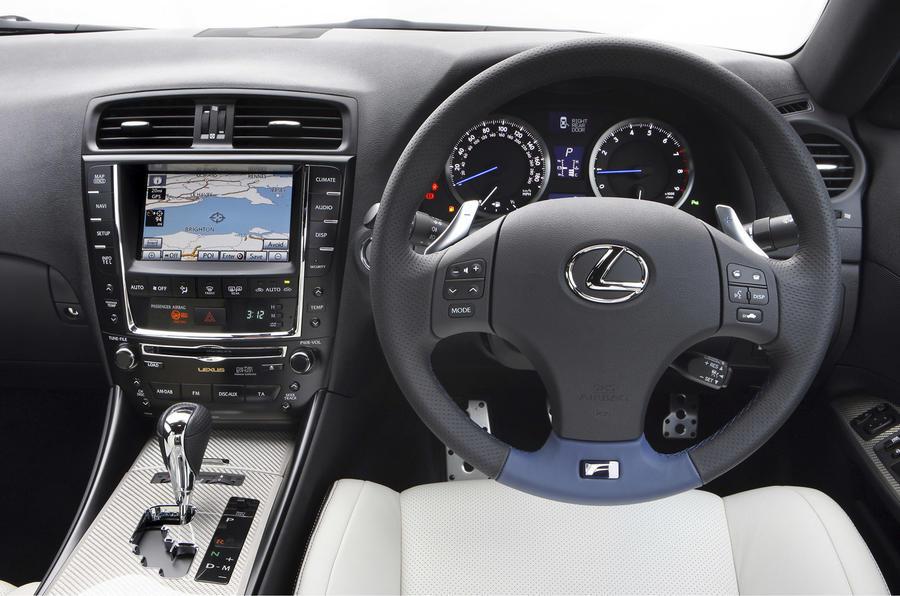 Lexus IS-F dashboard