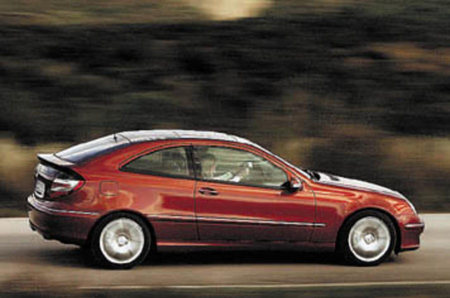 Mercedes C160 Sports Coupe