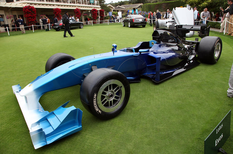 Lotus's £650k F1 special - new pics