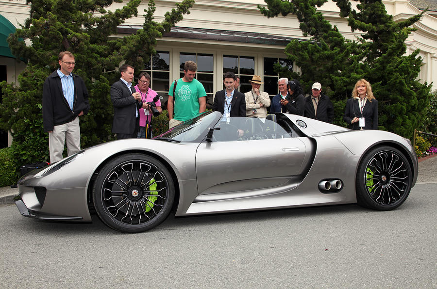 Porsche powers up 918 Spyder