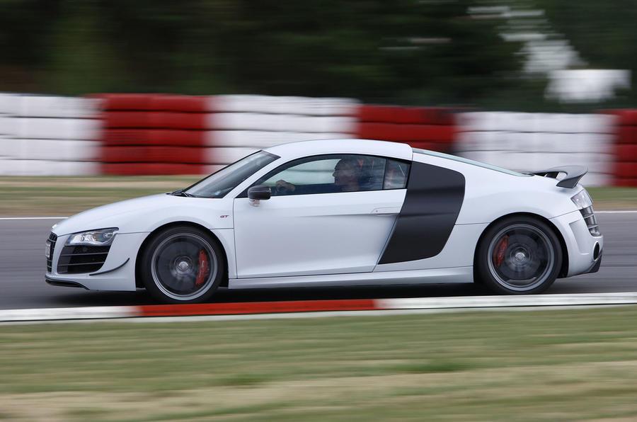 Audi R8 GT cornering
