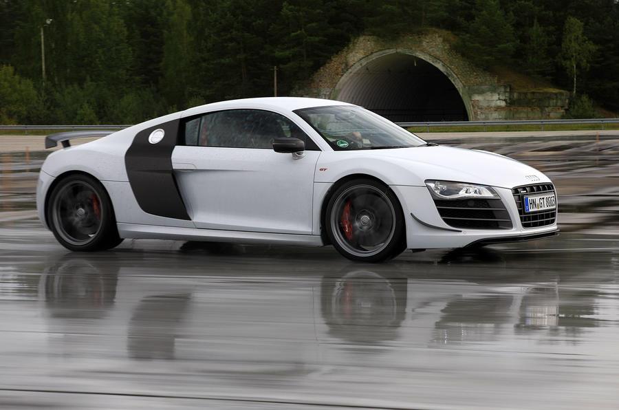 Audi R8 GT side profile
