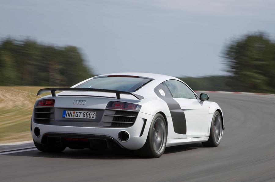 Audi R8 GT on track